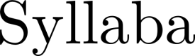 Syllaba